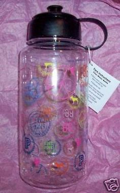 Image Detail for - Victorias Secret Pink Thermos Water Bottle For Sale - New and Used