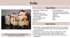 Strawberry Trifle Recipe by claremanson