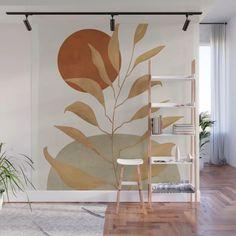 Diy Wall Painting, Wall Paintings, Mural Wall Art, Painted Wall Murals, Removable Wall Murals, Bedroom Decor, Wall Decor, Easy Wall, New Room