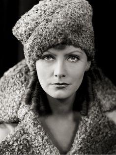 Greta Garbo. What a face!