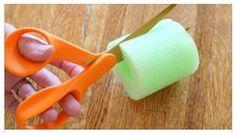 bastoncini in polietilene espanso per riabilitazione noodle giocattoli per bambini galleggianti da piscina Harrystore nuoto bastoncini da piscina in schiuma cava