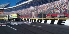 NASCAR Track Sweeper at Charlotte Motor Speedway