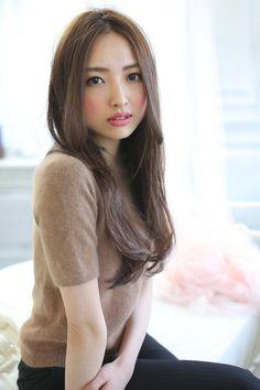 ☆sCene☆大人ロング | 茨木の美容室 sCene ESTのヘアスタイル | Rasysa(らしさ)