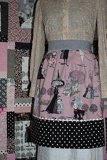 Ghastlies apron from Mrs. Katherine Ghastlie.