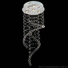 Đèn thả 3 chao nhôm là kiểu đèn mà chao đèn được treo thả xuống từ trần nhà bằng 3 sợi cáp đồng thời cũng là dây dẫn điện được gắn lên đế đèn.