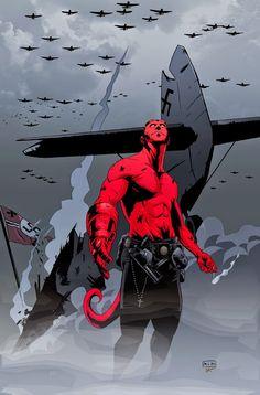 Hellboy by Michael Montenat *