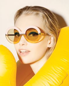 a59101a72b Karen Walker Resort 2015 Eyewear Collection The designs are inspired by the  paintings of David Hockney