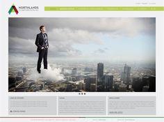 Diseño de páginas web by Iraida Rojas, via Behance