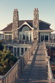 I think this would qualify as my ultimate dream house.  Gorgeous.  Hamptons.
