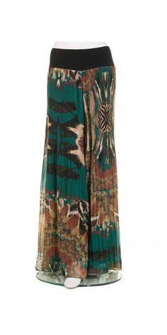 Mat Fashion Unique Print Palazzo Trouser, £119.00, 100% polyester. | idaretobe