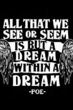 Indeed, Mr. Poe.