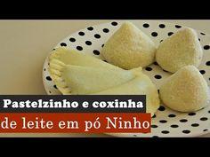 Pastel e Coxinha de Leite Ninho | Aqui na Cozinha