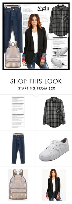 """""""Shein 3 / 10"""" by mell-2405 ❤ liked on Polyvore featuring Arche and WithChic"""