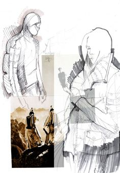 New Fashion Sketchbook Inspiration Projects Design Process Ideas Illustration Mode, Fashion Illustration Sketches, Fashion Sketches, Fashion Drawings, Fashion Design Sketchbook, Fashion Design Portfolio, Art Portfolio, Sketchbook Layout, Sketchbook Inspiration