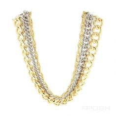 - High quality stainless steel chain necklace - Multi length design with a finish - All metals are IP plated - Lobster clasp closure with extender - Length: 20 inch, Extender: 4 inch POSH Vibe Collection - Everyone, Everywhere, Every Occasion. High Quality Costumes, Selling On Pinterest, Stainless Steel Chain, Vivienne, 18k Gold, Jewelery, Jewelry Accessories, Gold Necklace, Jewelry Making
