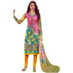 Readymade Cotton Printed Sober Embroidery Salwar Kameez Suit India #SalwarKameez #ShopNow #Designer #SalwarSuit #LowestPrice #NewStuff #DressMaterial #FreeShipping