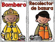 Resultado de imagen de profesiones en español para niños
