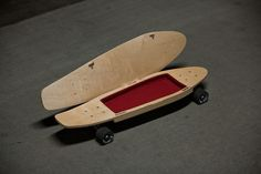briefskate stores your belongings while you cruise