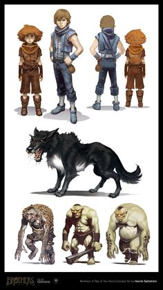 brothers a tale of two sons concept art - Pesquisa Google