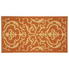 Safavieh Courtyard Decorative Indoor Outdoor Rug, Multicolor