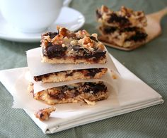 Magic Cookie Bars and Homemade Sweetened Condensed Milk @dreamaboutfoot #lowcarb #glutenfree