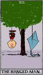 The Hanged Man - Peanuts Tarot: Snoopy, Charlie Brown, and the gang characters by Charles M. Peanuts Gang, Peanuts Cartoon, Charlie Brown And Snoopy, Hanged Man Tarot, The Hanged Man, Tarot By Cecelia, Astro Tarot, Tarot Major Arcana, Tarot Spreads
