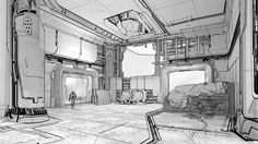 helicarrier concept interior - Google Search