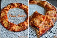 Juste histoire de goûter: Pizza Soleil au Jambon & Fromage (recette express)