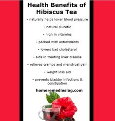 Look at all the reasons you should be giving  hibiscus tea a try!!!! #detox #natural #homeremedy #backtobasic #earth #organic #naturalmedicine #Healthy #health #alternative #holistic #naturalsolutions #home #remedy #nature #nochemicals #vegan #nature #backtobasics #raw #crueltyfree #tea  #foodie