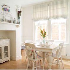 Esszimmer Wohnideen Möbel Dekoration Decoration Living Idea Interiors home dining room - Weiß auf Weiß Esszimmer