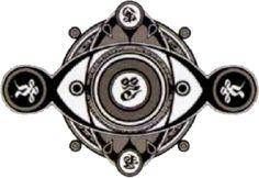 Seal of Anima, mother of Seymour Guado - Final Fantasy X Final Fantasy Tattoo, Final Fantasy 3, Fantasy Art, Glyph Tattoo, X Tattoo, Design My Own Tattoo, Temple Tattoo, Exotic Tattoos, Holy Symbol