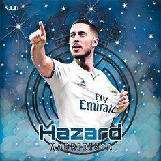 Eden Hazard, Football Art, Football Players, Hazard Real Madrid, Champions, Fc Barcelona, Soccer, Collection, Supreme T Shirt