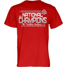 Ohio State Buckeyes 2015 College Football Playoffs National Champions Red Shirt