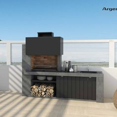 Outdoor Bbq Kitchen, Outdoor Barbeque, Outdoor Kitchen Design, Lap Pools, Indoor Pools, Backyard Pools, Pool Decks, Pool Landscaping, Swimming Pools