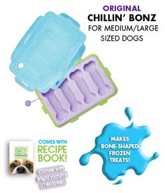 M2 Pets :: Dog Products :: EveryDay Dog :: Original Chillin' Bonz Frozen Treat Trays!