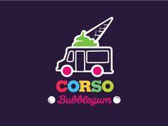 Corso Icecream by Octavian Budai #icecream #logo