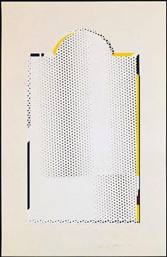 ROY LICHTENSTEIN - MIRROR #7 - GREGG SHIENBAUM FINE ART MIAMI http://www.widewalls.ch/artwork/roy-lichtenstein/mirror-7/ #MixedMedia