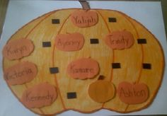 October Check In Board - fun fall crafts