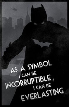 Awesome Dark Knight Character Posters