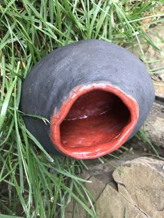 Gura-casca! Raku Pottery, Avocado, Fruit, Lawyer