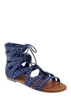 Leidah Gladiator Sandal by G by GUESS on @HauteLook
