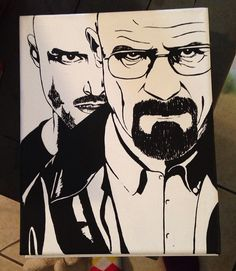 Breaking Bad Canvas on Etsy!