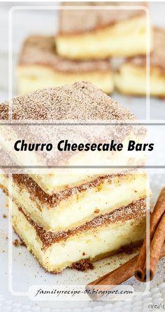 Churro Cheesecake Bars  #desserts #dessertrecipes #desserttable #dessertfoodrecipes