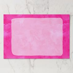 Neon pink watercolor modern bright background paper pad - stylish gifts unique cool diy customize