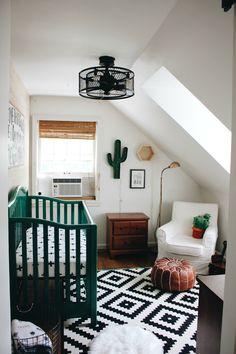 Cactus Themed Boy's Nursery