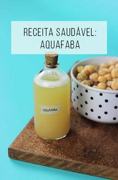 A aquafaba pode ser usada para substituir as claras de ovos em muitas receitas doces e salgadas, ou seja, perfeito para uma alimentação vegana!