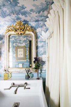 8dcd175d2050 My Notting Hill  Bathroom Wallpaper - the best! Dolce Vita