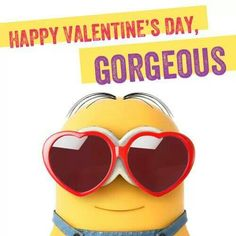 Happy Valentine's Day from the Minions! :)