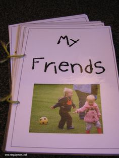 Twilight Sparkle:  Each friend gets a CM Scrapbook page to answer questions about friendship and decorate
