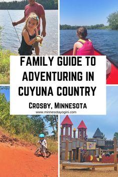 Minnesota Yogini - Family Guide to Adventuring in Cuyuna Country - Minnesota Yogini
